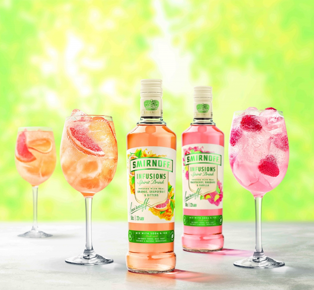 Image for SMIRNOFF Infusions launches for Summer serves