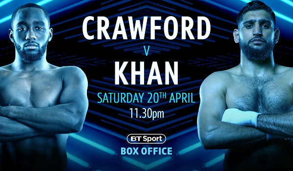 Image for Early Bird special price announced for Crawford v Khan